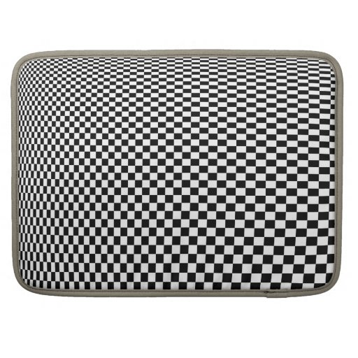 Checkerboard Infinity MacBook Pro Sleeves