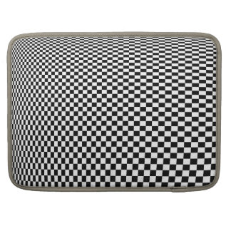 Checkerboard Infinity Sleeve For MacBook Pro