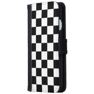 Checkerboard iPhone 6/6s Wallet Case