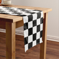 Checkerboard Laptop Sleeve Medium Table Runner