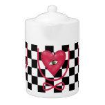 Checkerboard love you forever Eye heart U eternity