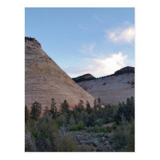 checkerboard mesa Zion National Park Postcard