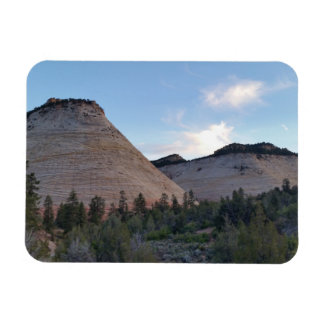 checkerboard mesa Zion National Park Rectangular Photo Magnet