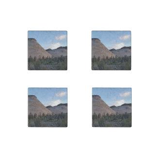 checkerboard mesa Zion National Park Stone Magnet