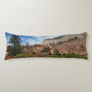 Checkerboard Mesa Zion National Park Utah Body Pillow