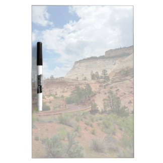 Checkerboard Mesa Zion National Park Utah Frosted Dry-Erase Board