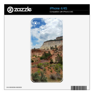 Checkerboard Mesa Zion National Park Utah iPhone 4 Skin