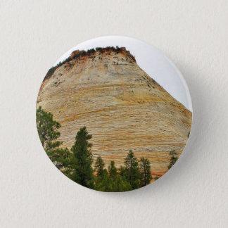 Checkerboard Mesa Zion Sandstone Pinback Button
