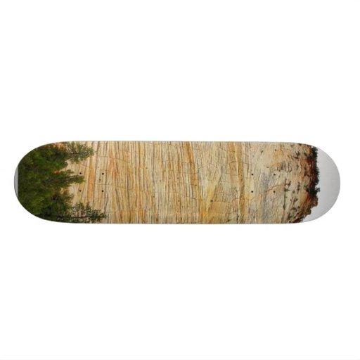 Checkerboard Mesa Zion Sandstone Custom Skate Board