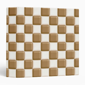 Checkerboard - Milk Chocolate and White Chocolate Binder