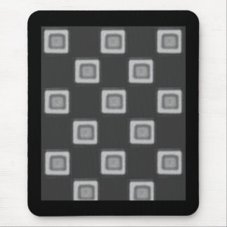 Checkerboard of Grays Mousepad