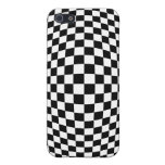 Checkerboard optical illusion case for iPhone 5