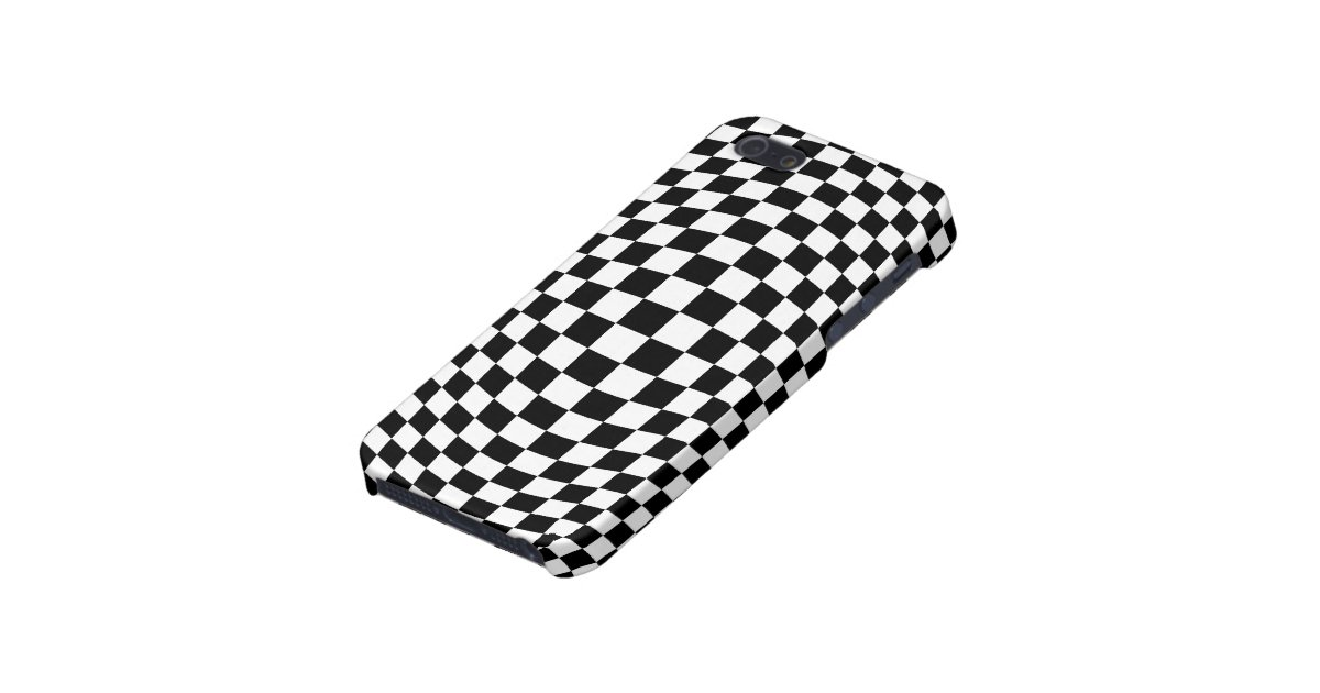 checkerboard optical illusion case for iphone se  5  5s