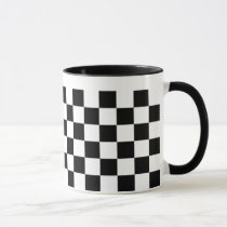 Checkerboard Pattern Mug
