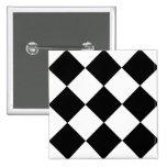 Checkerboard Pinback Button