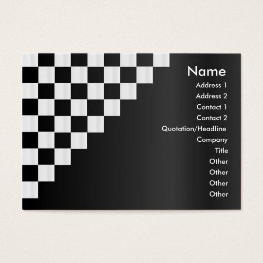 Checkerboard Profile Card