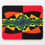 Checkerboard Quasar Mousepads