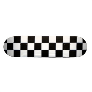 checkerboard skateboard