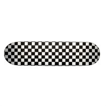 Checkerboard Skateboard Deck