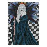 Checkerboard Sorcery Card