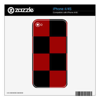CHECKERBOARD TOO! (a square tile design) ~ Decals For iPhone 4
