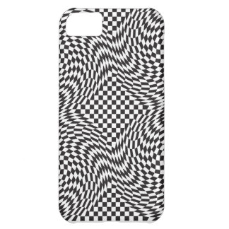 Checkerboard Warp Case For iPhone 5C