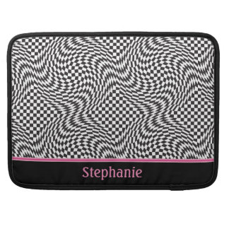 Checkerboard Warp Sleeve For MacBook Pro