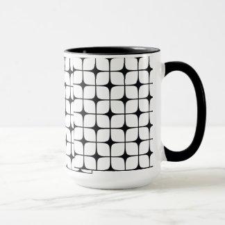 Checkered B&W Deco Coffee Cup