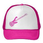 Checkered Bass Hat-Pink