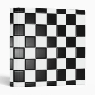 Checkered binder