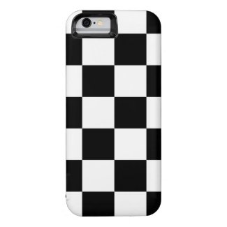 Checkered Black and White iPhone 6 Case