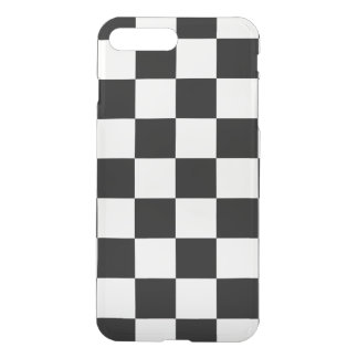 Checkered Black and White iPhone 7 Plus Case
