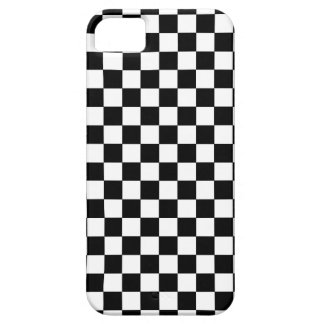 Checkered Black and White iPhone SE/5/5s Case