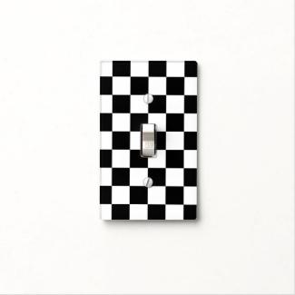 Checkered Black and White