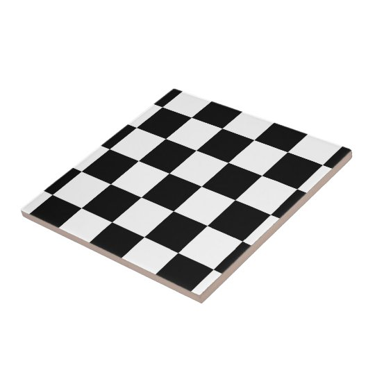 checkered black and white tile. Black Bedroom Furniture Sets. Home Design Ideas