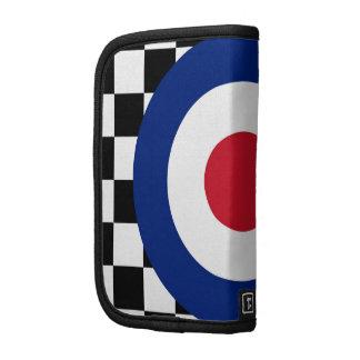 Checkered Black Racing Target Mod Folio Planner