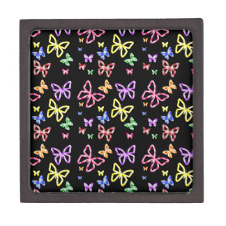 CHECKERED BUTTERFLIES GIFT BOX