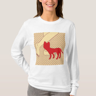 Checkered Cat T-Shirt