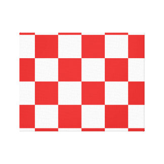 checkered, checked, squared canvas print