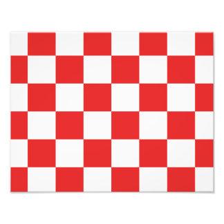 checkered, checked, squared photo print