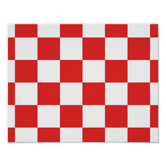 checkered, checked, squared poster