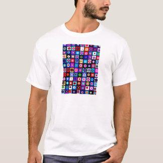 Checkered Circles T-Shirt