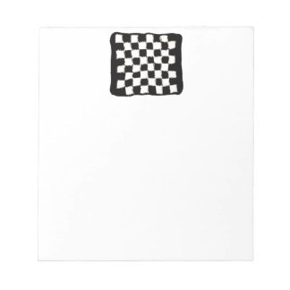 Checkered, Crochet-Style Note Pad