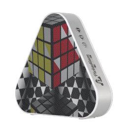 Checkered Cubes Bluetooth Speaker