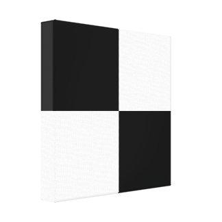 Checkered Customizable Canvas Print