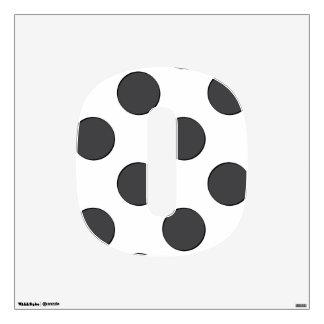 Checkered DarkGrey Dots Room Decals