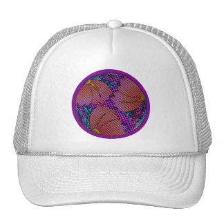 Checkered Dawn Cap Trucker Hat