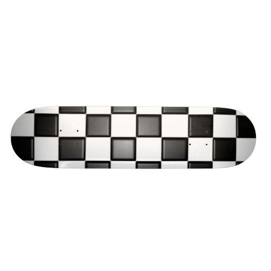 Checkered deck
