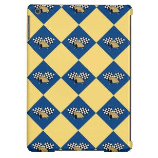 Checkered Derby iPad Air Cases