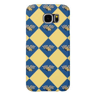Checkered Derby Samsung Galaxy S6 Cases